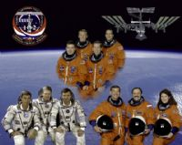 STS-102 Official NASA Crew Portrait